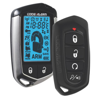 Code Alarm Two Way LCD Remote Start and Alarm
